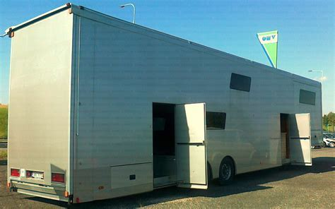 CARGOdesign   Conversion of a semi trailer ? JV Racing