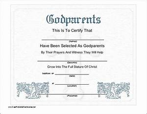 this printable certificate recognizes the selection of With catholic baptism certificate template