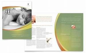 massage chiropractic brochure template word publisher With free massage therapy brochure templates