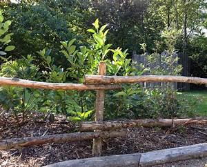 Barriere Pour Jardin : barri res de jardin en bois ~ Preciouscoupons.com Idées de Décoration