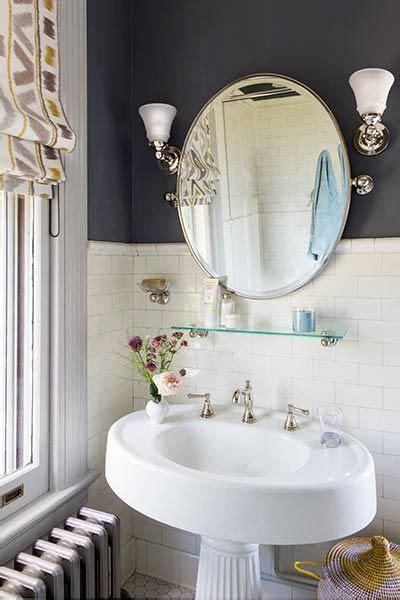 Period Bathroom Mirrors by Vintage Revival For A Bath Pedestal Sink