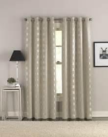 cosmic modern grommet curtain panel curtainworks