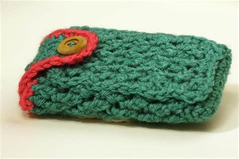 Free Mobile Cover by Free Crochet Pattern Mobile Phone Case Pakbit For