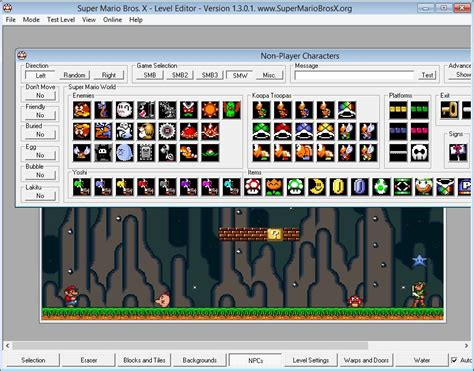 how to make fan video edits on computer smbx the super mario bros level editor for windows