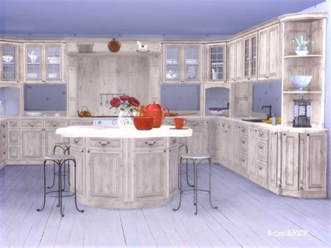 sims resource kitchen french country  shino kcr