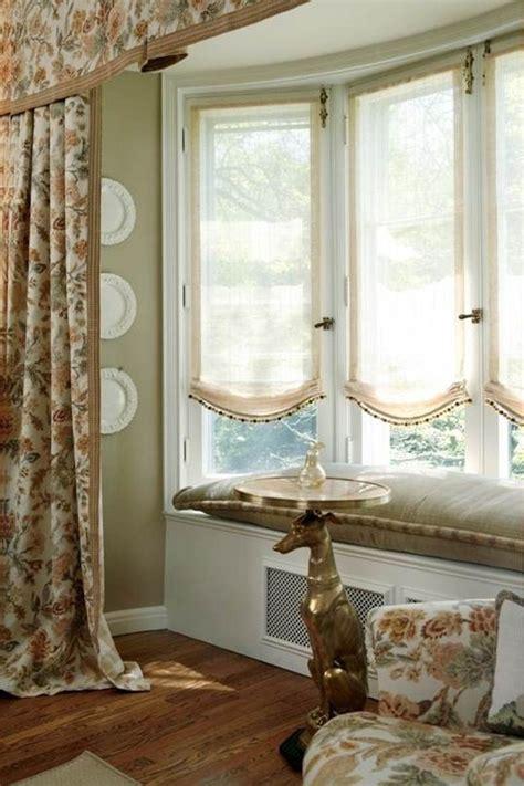 bay windows curtains curtain ideas