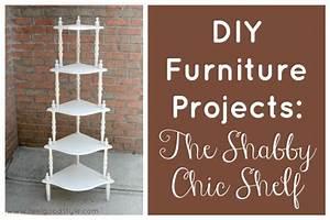 Shabby It Yourself : diy furniture projects the shabby chic shelf green living ~ Frokenaadalensverden.com Haus und Dekorationen