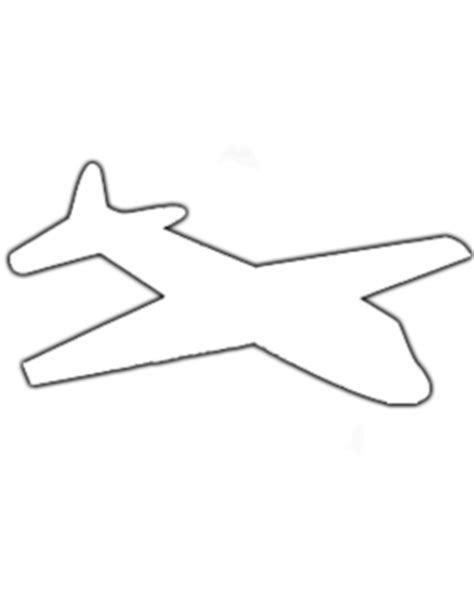 airplane template airplane activities template