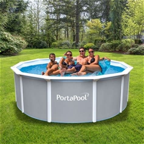 pool rund 3m brand new portapool above ground family swimming pool 3m auction graysonline australia