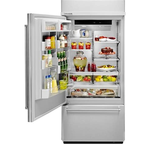 Kitchenaid Refrigerator Built In by Kitchenaid Kbbl306epa 36 Quot Penal Ready Built In