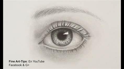 draw  realistic eye  pencil drawing