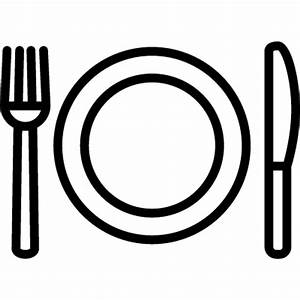 Fork Plate and Knife ⋆ Free Vectors, Logos, Icons and ...