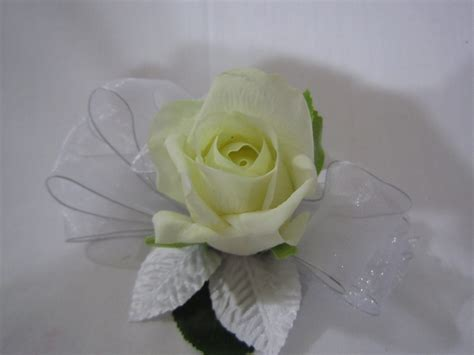 waterford vase single wrist debs corsage