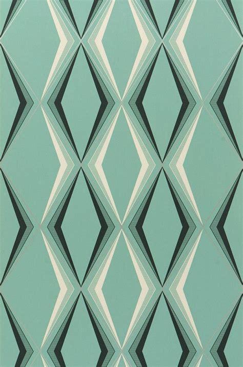 ikea canape lit idée déco du papier peint géométrique