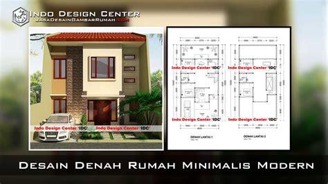 denah rumah minimalis modern  gambar denah rumah