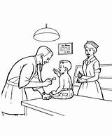 Doctor Coloring Pages Activity Profession Healthy Understanding Need sketch template