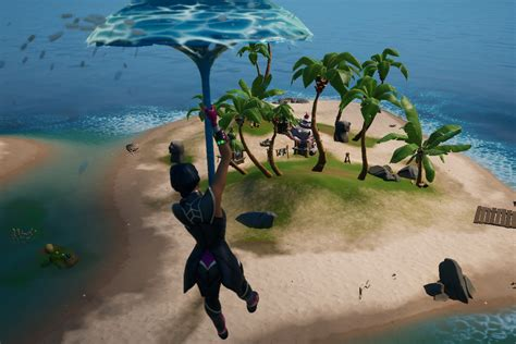 fortnite visit  boat launch  coral cove