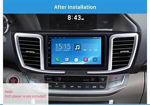 Dashboard 2 Din Car Radio Fascia For 2013 Honda Accord