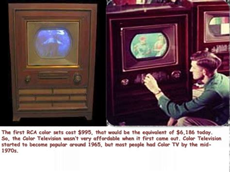 color tv history of color television comic