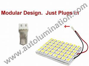 Auto Bulb Replacement Chart Autolumination 194 Array Square 48smd 3528 Bulb T10 Wedge