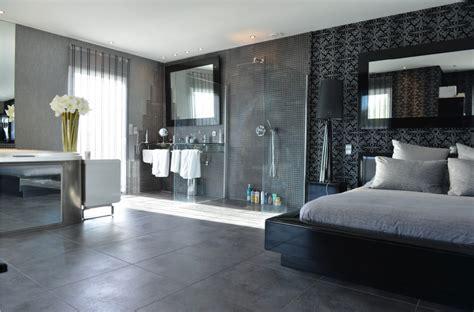 carrelage chambre chambre avec dressing et salle de bain en 55 id 233 es