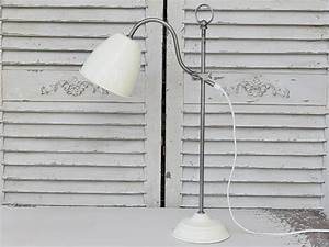Tischlampe Vintage Shabby : chic antique tischlampe metall vintage shabby lampe ~ Watch28wear.com Haus und Dekorationen