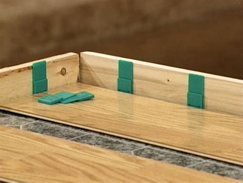 flooring spacers how to choose and install laminate flooring