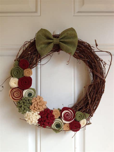 fascinating handmade christmas wreath designs style