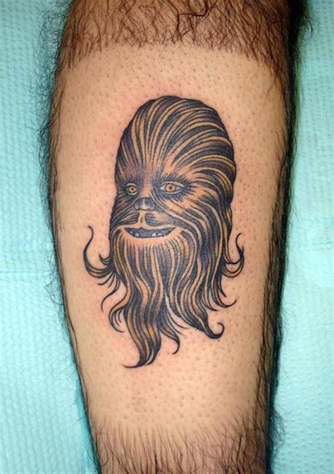 chuck norris tattoo what s worse than having chewbacca permanently enshrined