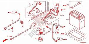 Wire Harness  Battery For Honda Fourtrax Rancher 420 4x4
