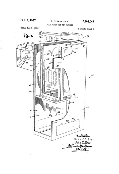 Patent Gas Fired Hot Air Furnace Google Patents