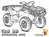 Coloring Atv Pages Am Clipart Outlander Wheeler Four Wheelers 800r Quad Printable Yescoloring Super Colouring Boys Quads Webstockreview Balloon Air sketch template