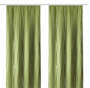 Vorhang Grün Blickdicht : 1 st vorhang gardine 140 x 245 gr n blickdicht ~ Lateststills.com Haus und Dekorationen