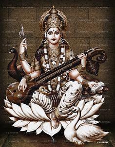goddess saraswati hd wallpaper maa saraswati wallpapers in 2019 hd wallpaper