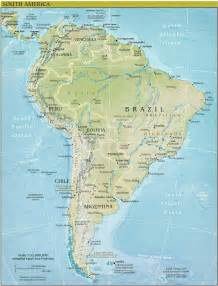 South America Geography Map