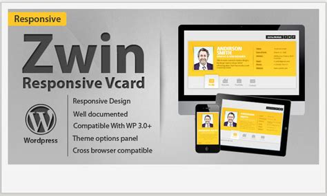 vcard wordpress templates wp template