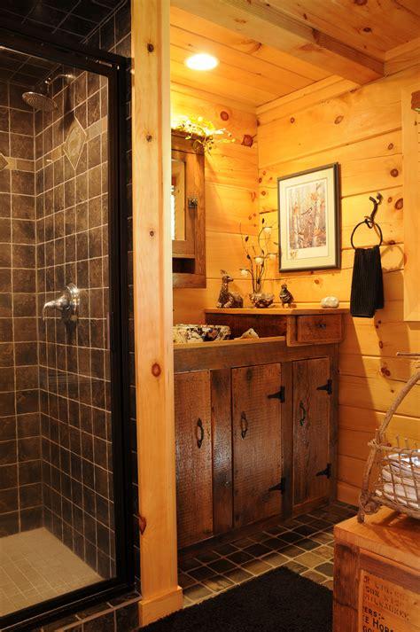 Rustic Cabin Bathrooms by Rustic Cabin Bathroom Bathroom Bathroomdesign