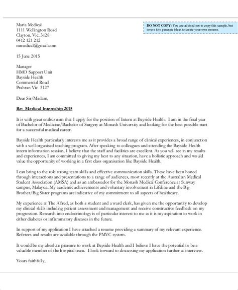 Sle Cover Letter Internship by Cover Letter For Internship Position Backtobook Info
