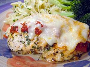 Easy Baked Chicken Parmesan No Breading) Recipe - Food.com