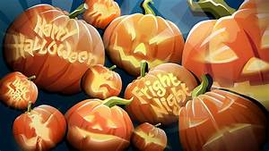 Fall Wallpaper Backgrounds with Pumpkins - WallpaperSafari