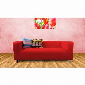 Bespoke custom made slip covers to fit the ikea klippan 2 for Custom made sectional sofa covers