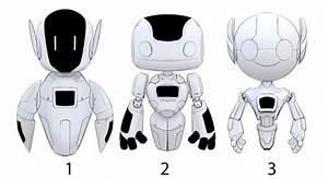 Cute robot concept by XeroHaggard on DeviantArt