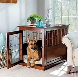 1000 ideas about dog crate furniture on pinterest With decorative dog crates furniture