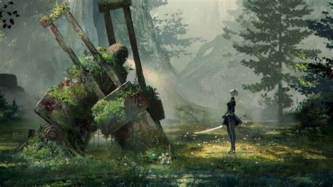 Nier Automata Animated Wallpaper - nier automata animated wallpaper dreamscene hd