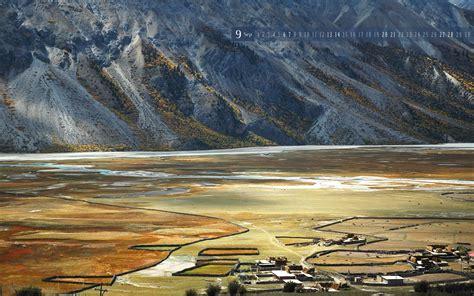 Pictures Of A Farm Sep 西藏 然乌河边的小村 Riverside Village Rawu Tibet 1680x1050 Flickr