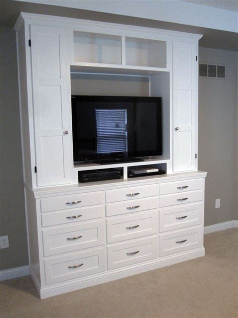 Handmade Bedroom Dresserentertainment Center By