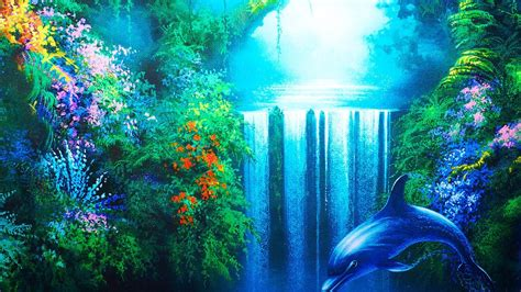 dibujo de delfines  fondos de pantalla
