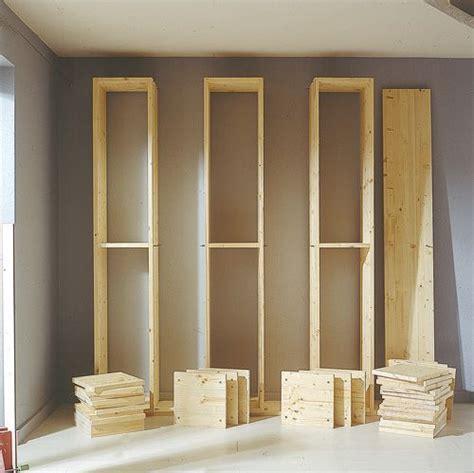 costruire libreria in legno come costruire una grande libreria a moduli fai da te a