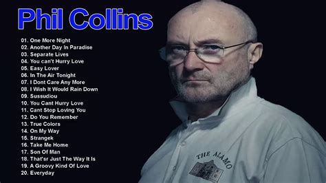 If you enjoyed listening to this playlist, we recommend you to check: Phil Collins Best Songs 2021 - Phil Collins Greatest Hits Collection - YouTube