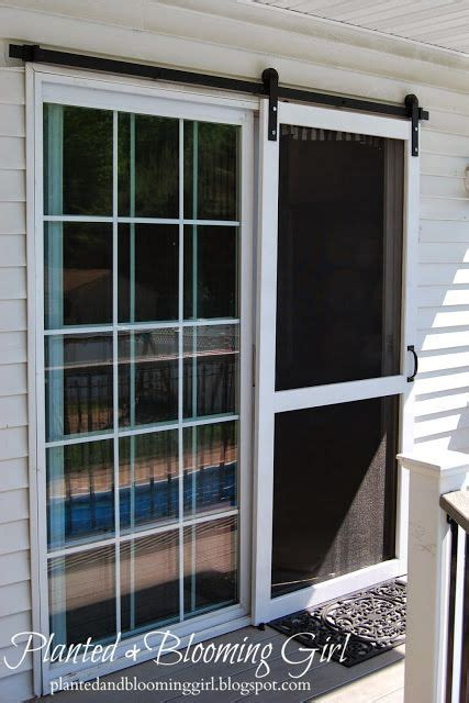 best 25 doors with screens ideas on